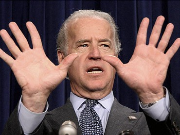Joe Biden uses all ten fingers to show the unemployment rate.  We have to wonder whether he will have enough fingers next month.